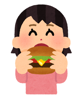 syokuji_hamburger_girl.png